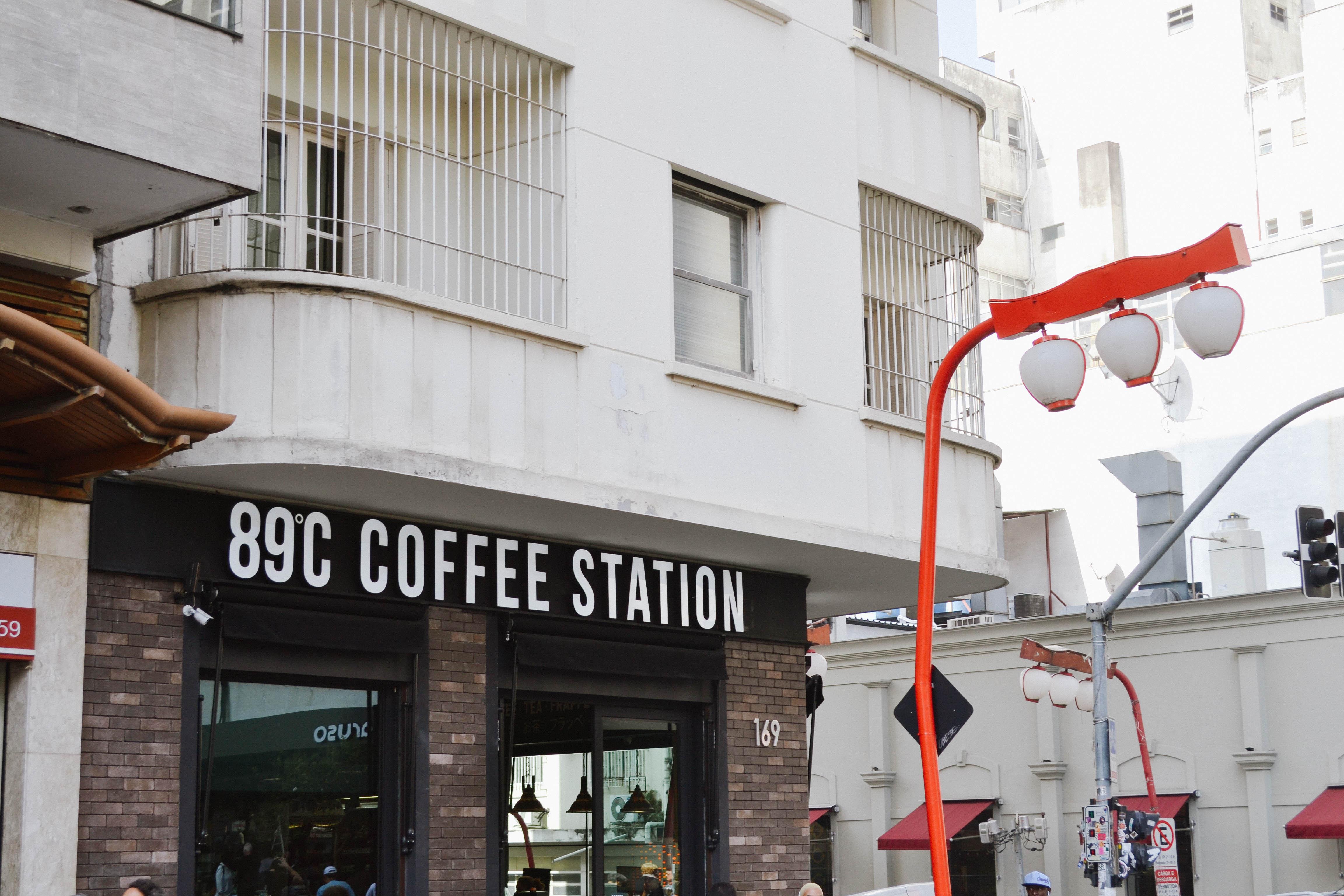 Explore São Paulo: 89ºC Coffee Station