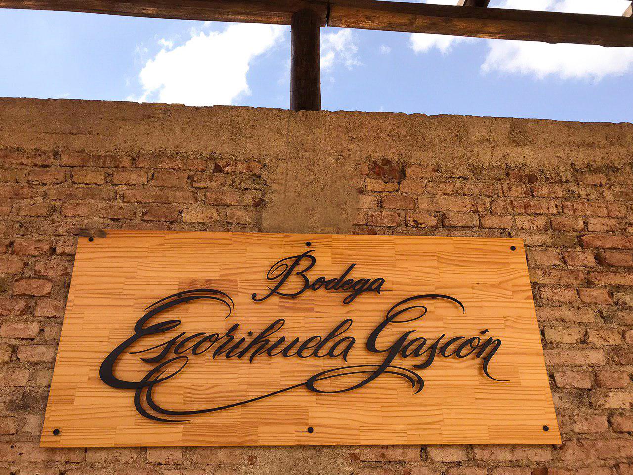 Visita à Bodega Escorihuela Gascón