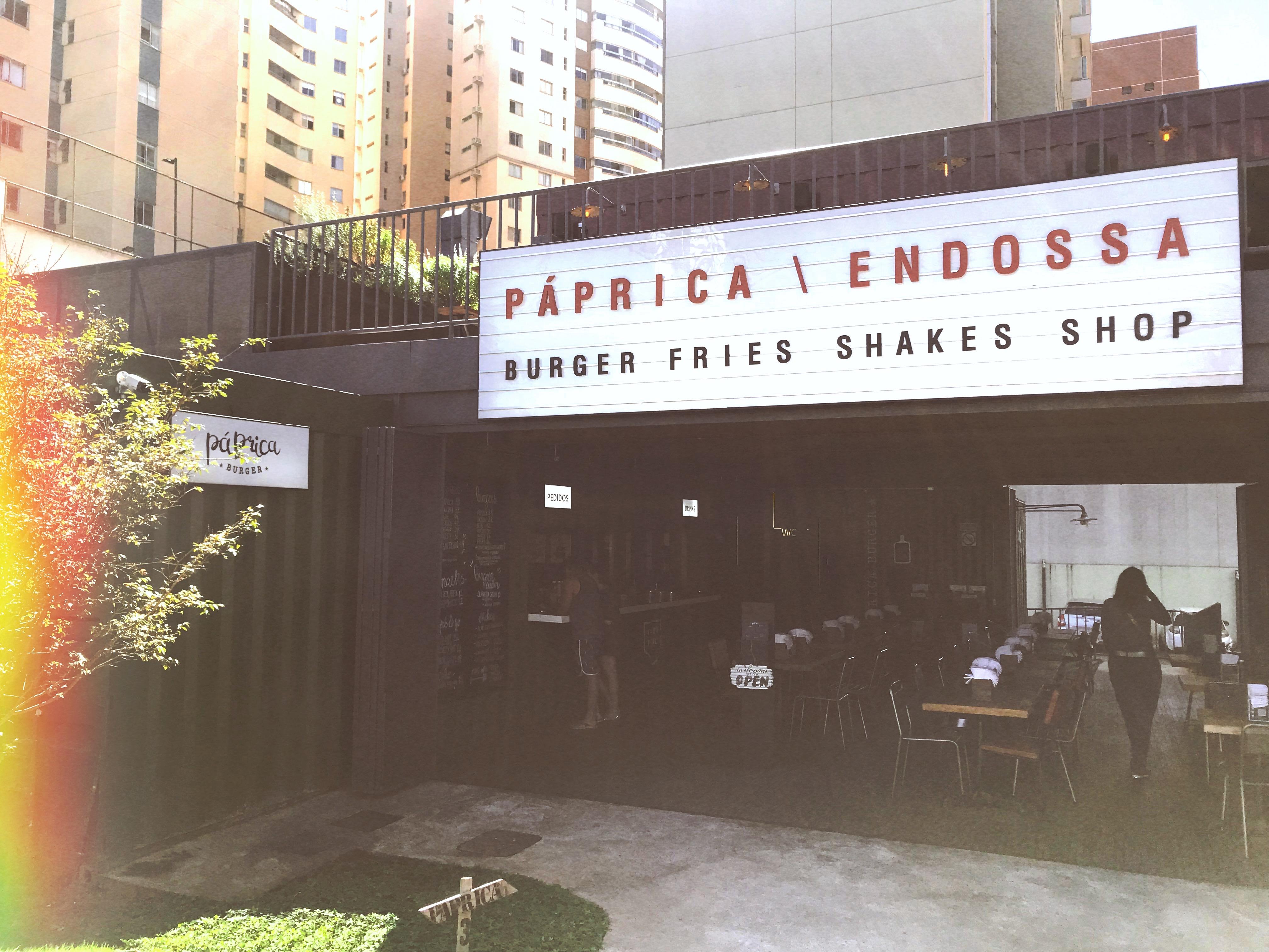 Páprica Burger: o melhor hambúrguer de Brasília